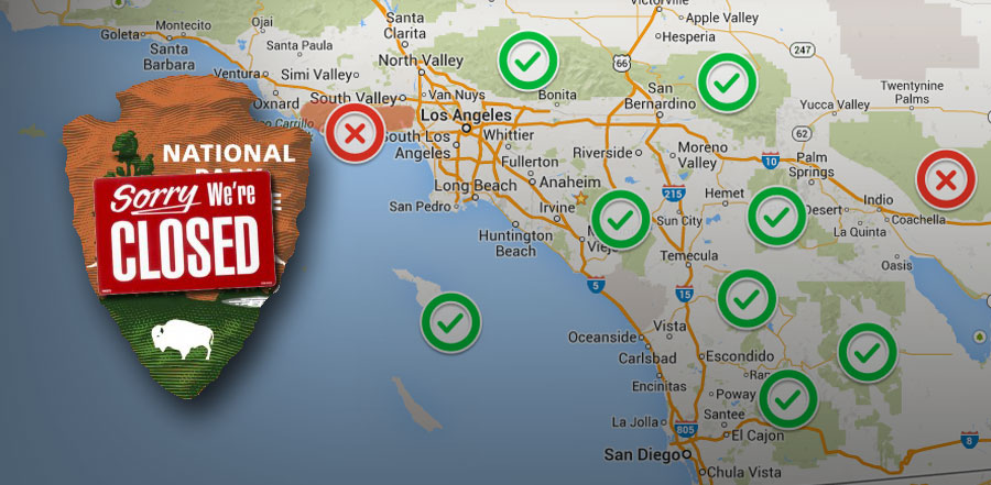 Where can you hike in SoCal during the Government Shutdown?