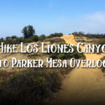 Hiking Los Leones Canyon Trail to Parker Mesa Overlook
