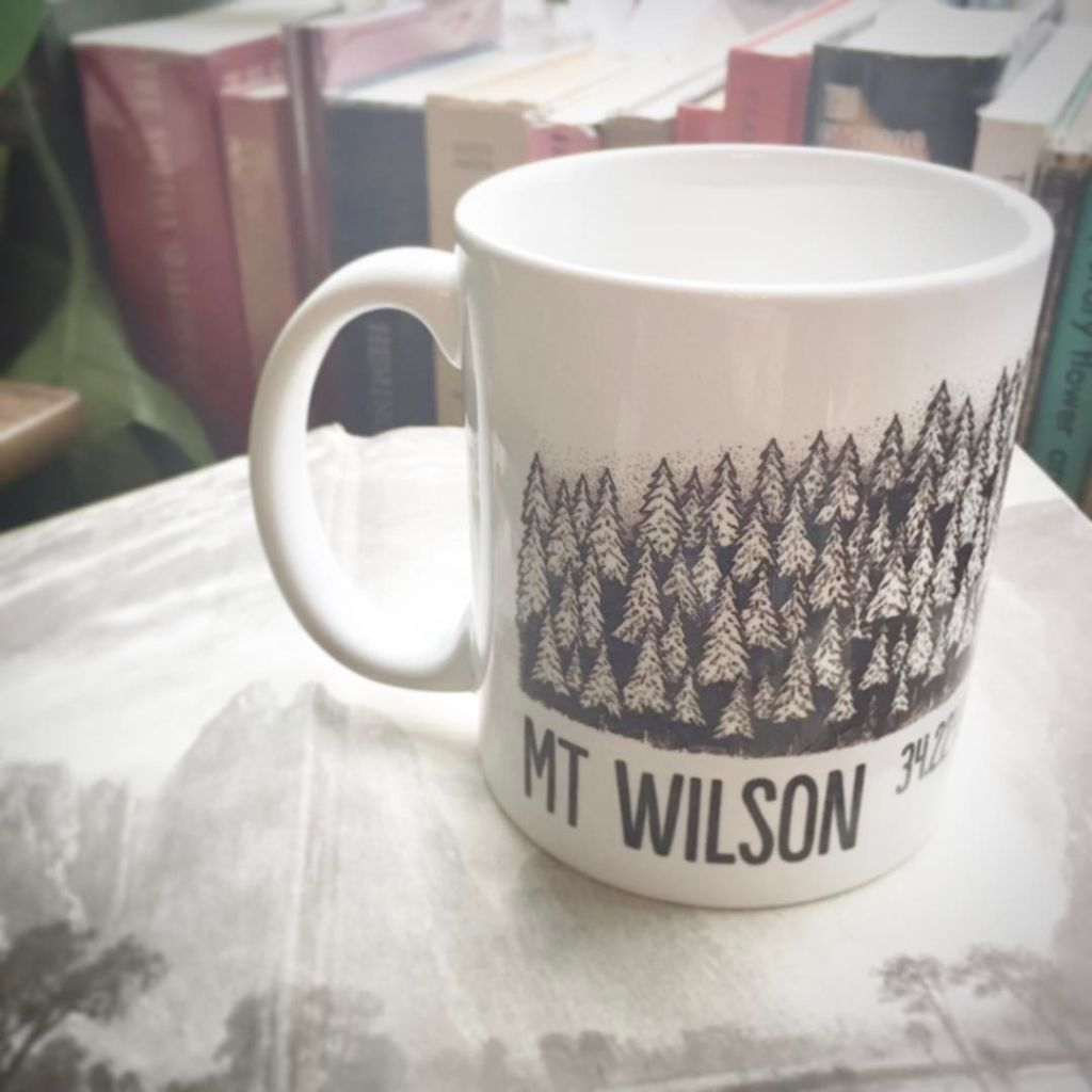 Fuel up with the Mt Wilson mug
