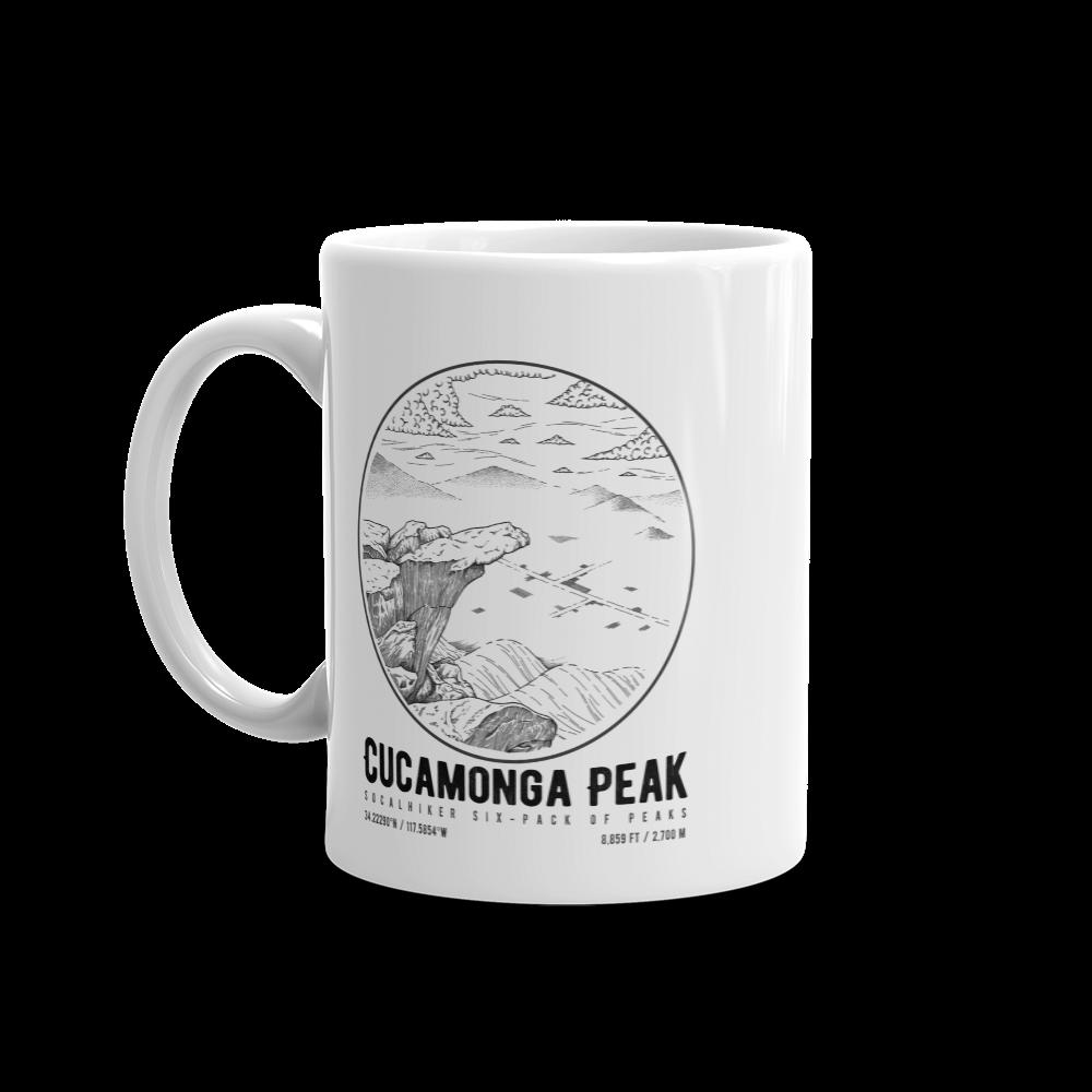 Cucamonga Peak mug