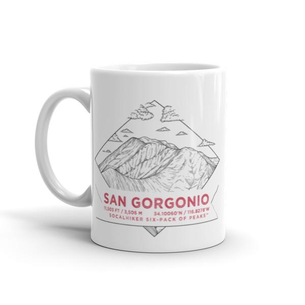 Mt San Gorgonio Mug