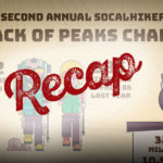Recap of the second annual Six-Pack of Peaks Challenge