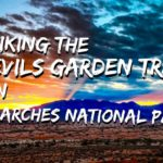 Hiking the Devils Garden Loop in Arches NP