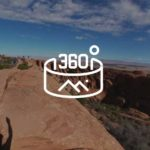 360 view from a fin above Devils Garden