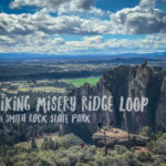 Hiking the Misery Ridge Loop Trail in Central Oregon's Smith Rock State Park