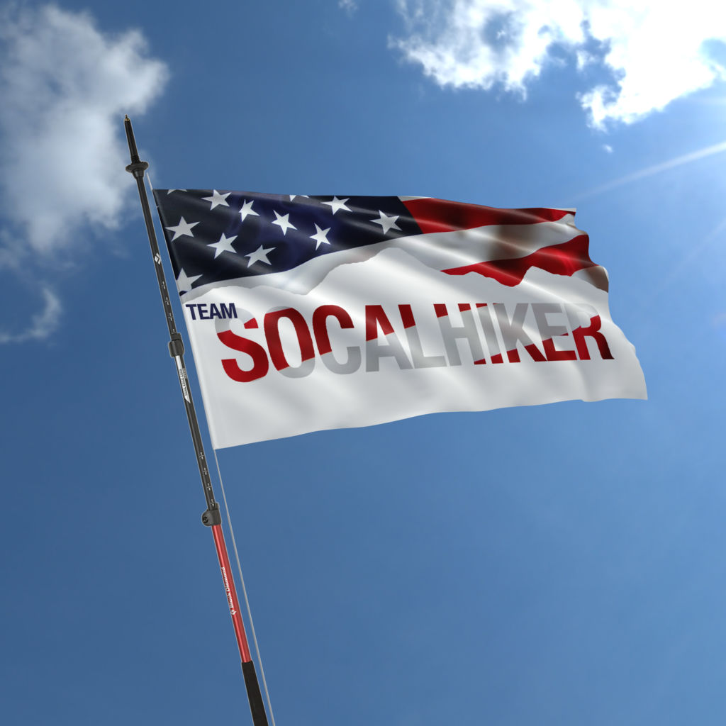 Let your SoCalHiker flag fly!