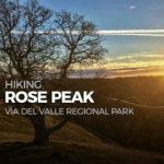 Hike Rose Peak from Del Valle Regional Park