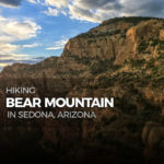 Hiking Bear Mountain in Sedona Arizona