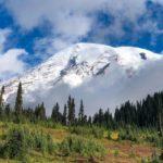 A Glimpse at Mount Rainier