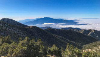 Mt San Jacinto across the valley